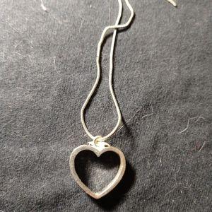 Boutique heart pendant